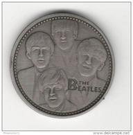 Médaille Métal Brossé The Beatles - Royaume-Uni