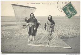 CPA Berck Plage - Pêcheuses De Crevettes - Circulée En 1911 - Berck