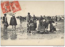 CPA Berck Plage - Arrivée Des Macrieux - Circulée En 1921 - Berck