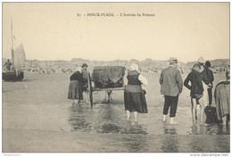 CPA Berck Plage - L'Arrivée Du Poisson - Non Circulée - Berck