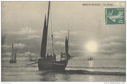 CPA Berck Plage - La Pêche - Circulée - Berck