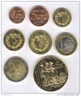 Série Essai Euros Royaume-Uni 2003 - 1 Centime à 5 Euros - Non Classés