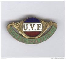Badge Union Vélocipédique De France - Sous Délégué Sportif - Circa 1930 - Professionnels / De Société