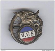 Badge Union Vélocipédique De France - Circa 1930 - Professionals / Firms
