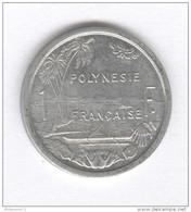 1 Franc Polynésie Française 1965 - French Polynesia