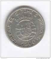 5 Escudos Sao Tome Et Principe - Colonie Portugaise - 1939 - Sao Tome And Principe