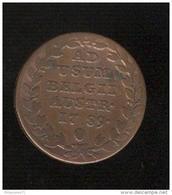 1 Liard Pays Bas Autrichiens 1789 - [ 1] …-1795 : Période Ancienne