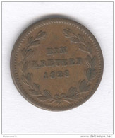 1 Kreuzer Allemagne - Baden - 1828 - [ 1] …-1871 : German States