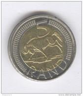 5 Rand Afrique Du Sud / South Africa 2012 Bi-métallique / Bimetalic - Afrique Du Sud