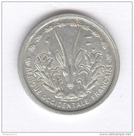 1 Franc Afrique Occidentale Française 1948 - Monnaies