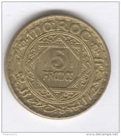 5 Francs Maroc 1946 TTB - Maroc