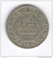 1/2 Piastre Syrie 1921 - Gabon