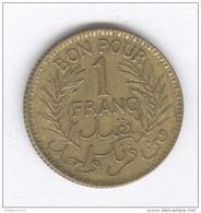 Bon Pour 1 Franc Tunisie - 1945 - Tunisia