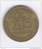 25 Francs AOF Togo 1957 - Togo