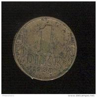 1 Dinar Yougoslavie 1938 - Yougoslavie