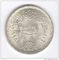 1 Pound Egypte - FAO - Argent / Silver - Egypte