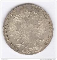 Refrappe Thaler De Marie Thérèse - Autriche - Daté 1780X - TTB+ - Austria
