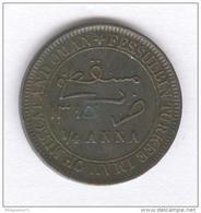 1/4 Anna Muscat Oman 1913 - Victoria - TTB+ - Oman