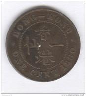 1 Cent Hong Kong 1880 - Victoria - TTB - Frappe Monnaie - Hong Kong