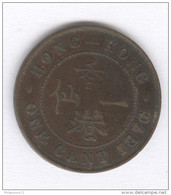 1 Cent Hong Kong 1876 - Victoria - TTB - Frappe Médaille - Hong Kong