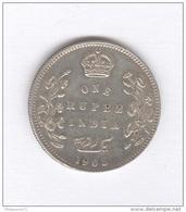 1 Roupie / Rupee Inde / India 1905 - Edouard VII / Edward VII - TB+ - India