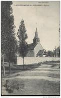 CPA L'Abergement Ste Colombe - Eglise - Circulée 1911 - Autres Communes