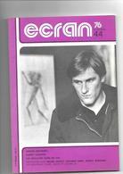Revue Cinéma Ecran 76       N° 44 Depardieu  Valentin  Index 1975 - Cinéma/Télévision