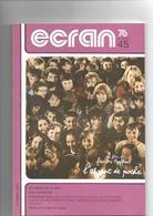 Revue Cinéma Ecran 76       N° 45 La Publicité  Rochefort - Cinéma/Télévision
