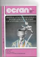 Revue Cinéma Ecran 76       N° 51 Lang  Cukor  Sexe 76 - Cinéma/Télévision