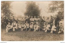 Photo Ecole D'application Au Tir De La Valbonne 1915 - Ecrite Au Verso Comme Une Carte Postale - Guerre, Militaire