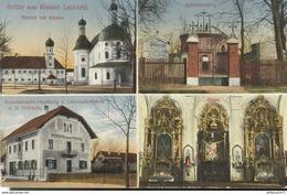 Carte Postale De Prisonnier Français - Lager Lechfeld En Bavière - Circulée 1915 - Dokumente