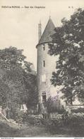 CPA Paray Le Monial - Tour Des Chapelains - Circulée 1916 - Paray Le Monial