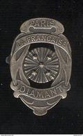 Badge Cyclisme - La Française Diamant - Paris - Cycling
