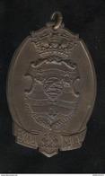Superbe Médaille De L'Ecole Navale De Rio De Janeiro - Schiffe