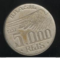 5000 Réis Brésil / Brasil 1937 Santos Dumont - Brésil