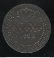 20 Réis Brésil / Brasil 1820 R - Brésil