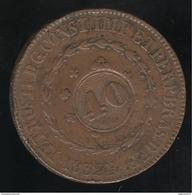 40 Réis Sur 80 Réis Brésil 1832 R - Brésil