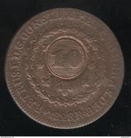 10 Sur 20 Réis Brésil 1828 R - Brésil