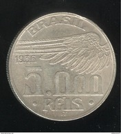5000 Réis Brésil 1936 Santos Dumont - TTB+ - Brésil