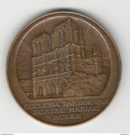 Médaille Notre Dame De Paris - Graveur Raoul Bénard - Altri