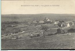 CPA  Bourgneuf Val D'Or - Vue Générale De Touches -  Circulée - Other Municipalities