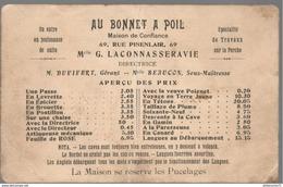 CPA - Au Bonnet A Poil - Publicité Fantaisiste Pour Une Maison De Passe - Non Circulée - Humour