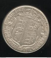 1 Demi Couronne / Half Crown - Grande Bretagne / United Kingdon 1927 TTB+ - 1902-1971 : Monnaies Post-Victoriennes
