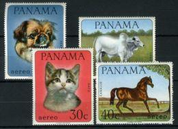 PANAMA ( AERIEN ) : Y&T N°  424/427  TIMBRES  NEUFS  SANS  TRACE  DE  CHARNIERE . - Panama