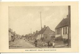 59 - WALINCOURT / RUE DE CAMBRAI - France