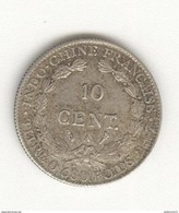 10 Centimes Indochine 1922 - Monnaies