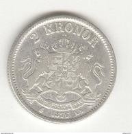 2 Kronor Suède / Sweden 1876 - Suède