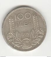 100 Leva Bulgarie / Bulgaria 1934 - Bulgarie