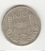 100 Leva Bulgarie / Bulgaria 1934 - Bulgaria