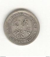 5 Cents Hong Kong 1894 - Hong Kong